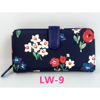Cath King Fashion Women's long zipper wallet Card package- Tulips -intl Price Philippines