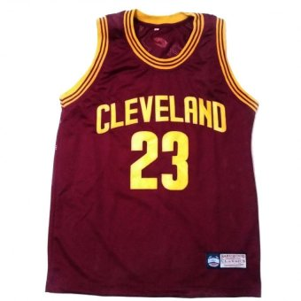 Cavaliers 23 James Basketball Jersey Sando Adult (Maroon)