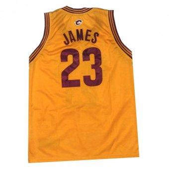 Cavs 23 James Basketball Jersey Sando Adult (Yellow) - 2
