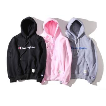 Champion Women's Sweaters Fashion casual locomotive jacket Print breathable rash guards - 2