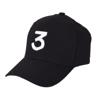 Chance 3 Casual The Rapper Baseball Cap Streetwear Lover GiftsBlack - intl