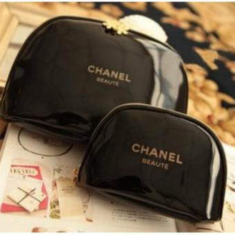 Chanel Beaute VIP Gift Cosmetic Pouch Set of 2
