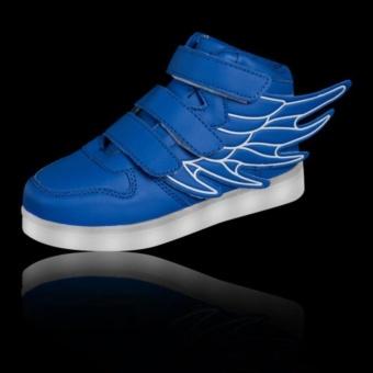 Children Boys Girls Running wings shoes Luminous Sneakers Led Light Up Kids sneaker - intl - 5