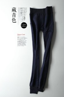 Chitoso Brand Caojin XL version of winter wear pants tide thin body brushed Leggings - intl Price Philippines