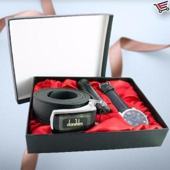 Christmas Birthday Gift Present Set Belt,flashlight,Watch Jesou Collection