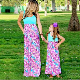 Christmas Family Matching Clothes Mother Daughter Dresses(Kids) -intl Price Philippines