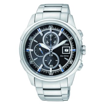 Citizen Men's Silver Stainless Steel Strap Watch CA0370-54E