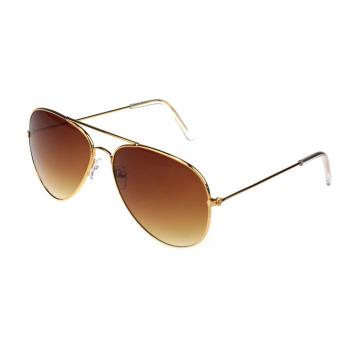 Classic Aviator Metal Sunglasses - Gold - picture 2