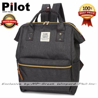 Clearance Sale !!! Pilot 4019 Japan CLBD Style Canvas Backpack Best Gift(Black)