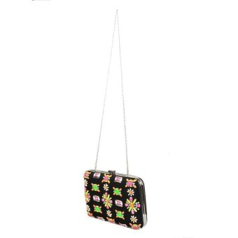 Closet Candy Clutch JLB08 (Black/Multicolored) - picture 2