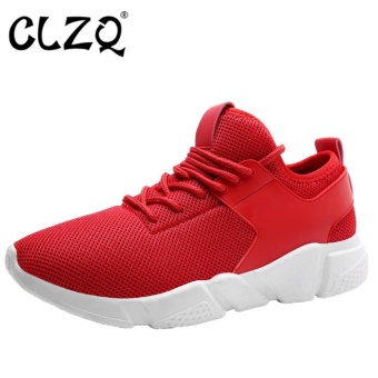CLZQ Running Shoes for Men New Sport Shoes Men Breathable RunningShoes Men Sneakers Women Athletic Shoes Walking Trainers Man-Red -intl Price Philippines