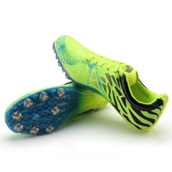 CLZQ Track Sports Running Shoes Spike Spikes Athletics TrainingShoes-Green - intl - 4