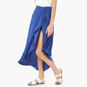 Coco Cabana Cascade Wrap Skirt (Royal Blue) Price Philippines