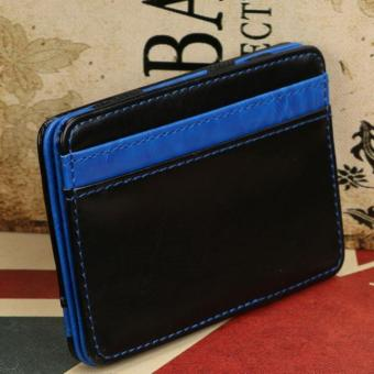 CocolMax Mini Neutral Magic Bifold Leather Wallet Card HolderWallet Purse Money Clip Free Shipping - intl - 4