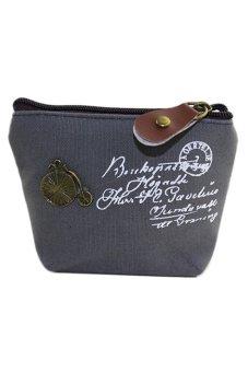 Cocotina Retro Coin Bag Purse Wallet Card Case - Bicycle Decor
