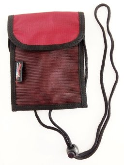 Conquer Neck Wallet - Small (Maroon) Price Philippines