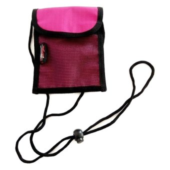 Conquer Neck Wallet Small (Pink)