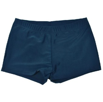 Corbett with Boxer Ms. swimming trunks swimsuit (Dark blue)