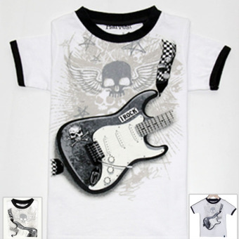 Cotton boy's short sleeved New style T-shirt