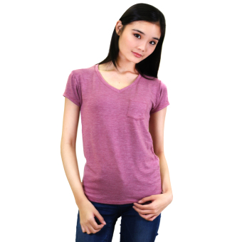 Cotton Republic Sabrina Soft Top Blouse (Purple) Price Philippines
