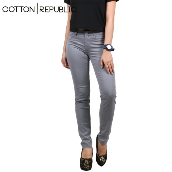Cotton Republic Soft Stretchable skinny Jeans (Grey)