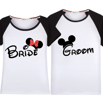Couple's Short sleeve New style T-shirt (Raglan sleeves)