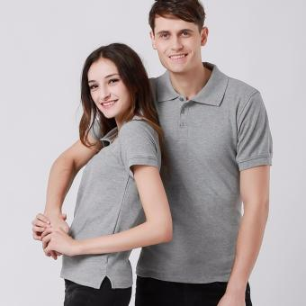 Couples Set of Quality Fashion Polo Shirts - Gray