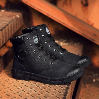 Cowboy Boots for Men's fashion casual shoes Breathable and comfortable - intl - 3