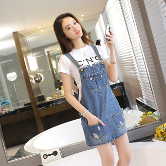 Cowboy Female Summer New style dress strap dress