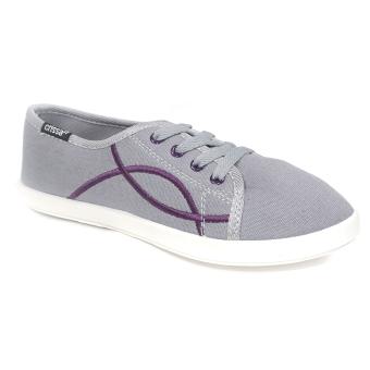 Crissa Steps Ciara Lace-up Shoes (Grey)