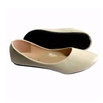 Crizzie Flat Shoes (off white) - 3