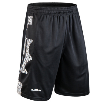 CROWN summer training I shorts basketball shorts (Big logo black)