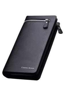 Curewe Kerien New Style Men's Business Wallet(Black)