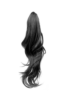 Curly Claw Pony Tail Extension (Black)