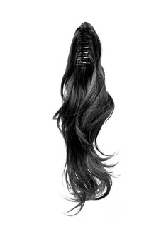 Curly Claw Pony Tail Extension (Black) - picture 2