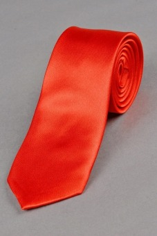 Cyber Men Cocktail Formal Business Plain Slim Skinny Tie Necktie