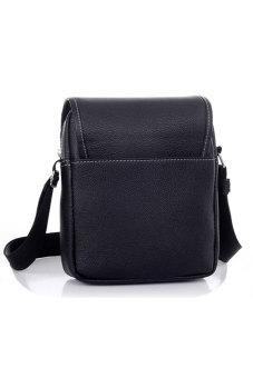 Cyber Men's Business Crossbody Messenger Bag (Black) - picture 2