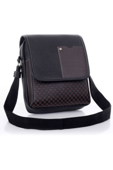 Cyber Men's Business Crossbody Messenger Bag (Black)