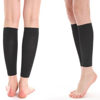 Cyber Thin Leg Calves Shaper Burn Fat Socks Compression Stovepipe Warmer 420 D