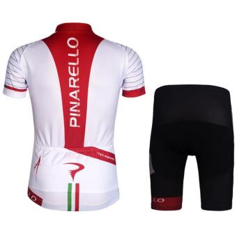 Cycling Bicycle Bike Outdoor Jersey + Shorts Short SleevesBreathable Riding Clothes Pants - intl - 2