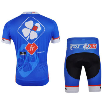 Cycling Jersey With Shorts Set - intl - 2