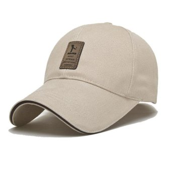 Dad Hat Baseball Cap Unconstructed Polo Style Adjustable Apricot -intl - 5