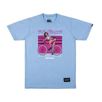 DAILY GRIND DG Pedal Men's T-shirt (Light Blue) Price Philippines