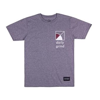 DAILY GRIND FD SD01 T-shirt (Heather Grey)
