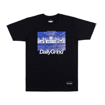 DAILY GRIND Waiting T-shirt (Black)