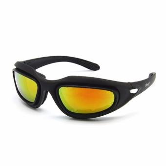 Daisy C5 Polarized Army Military Tactical Shooting Sunglasses (Black)