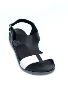 Dally T-Strap Flip Flops by Floppies by Ohrelle (Black) Price Philippines