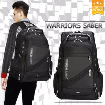 D&D BPK1418 New Outdoor Laptop Bag School Backpack TravelLuggage Waterproof Backpack With USB Charging Port(Black)