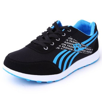 D&D Women's Sports Running Shoes Fashion Student Shoes JZ-A-2(Black)