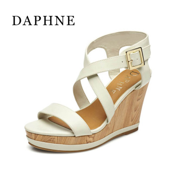Daphne ultra-high with waterproof sandals Shishang women's shoes